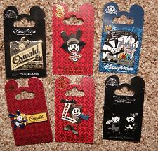 Disney Oswald The Lucky Rabbit 7 Pin Set All Brand New On Original Cards