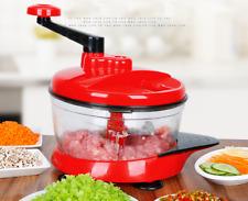Manual Food Chopper Stirring Garlic Blender Kitchen Supplies abs+Stainless Steel