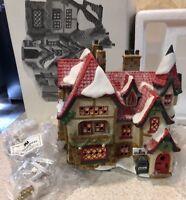 Santa's Workshop Porcelain HOUSE North Pole Series 56006 Dept 56 Christmas