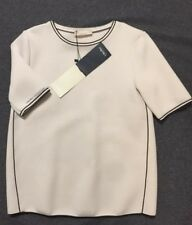 Brand New S MaxMara Ladies' Top T Shirt with tag RRP260 size M Italian Label