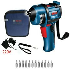 Bosch GSR Bit Drive Professional 12 Bits Cordless Electric Screw Driver 3.6V USB