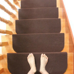 Stair Tread Seamless Reusable Protective Non Slip Self  Floor Mat Step