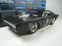 DODGE CHARGER R/T DOM TORETTO  FAST AND FURIOUS 1/24 JADA TOYS