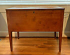 Kentucky Sugar Chest, Solid Cherry, Handmade Franklin County Early 1800s