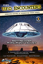 UFO Encounters Monument Valley UFO Clear Model Kit by Atlantis Toy and Hobby