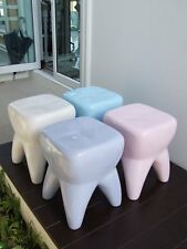 Dental furniture & decoration for dentist. chairs set in tooth shape fiberglass