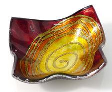 Teller Glas Deko Schale Mars rot (953311) NEU Glasschale Glasteller Dekoschale