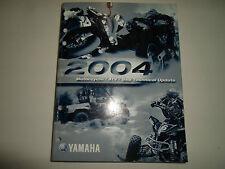 2004 Yamaha Motorcycle Atv SxS Technical Update Manual Factory Oem 03 Book