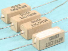 Colber 2.5 OHM  5 Watt 10% Sand Stone Ceramic Resistor