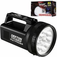 Dekton Pro Wayfinder XS 60 12 LED Torch 60 Lumens 50M Range & Batteries Car