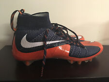 University of Virginia UVA Cavaliers Game Worn Nike Blue #CUL8R Custom Cleats