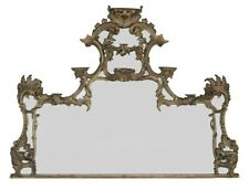 Giltwood Overmantel Mirror in the Chippendale Taste, fourth quarter 19th century