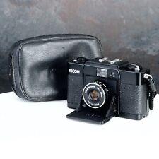 :Ricoh FF-1 35mm Film Compact Camera w/ 35mm f2.8 Rikenon Lens & Case [EX+++]