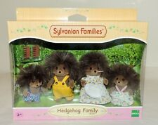 NEW Sylvanian Families (4018) HEDGEHOG FAMILY w/Mum, Dad, Sister, Brother