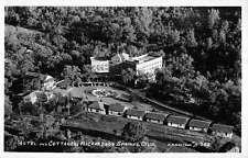 Richardson Springs California Hotel Cottages Real Photo Antique Postcard K13852