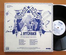 Offenbach Barbe Bleue L'O.R.T.F. Jean Doussard 2xLP BOURG BG 2005-6 NEAR MINT