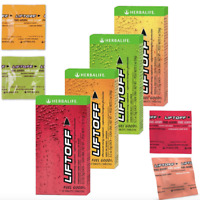 New Herbalife Liftoff Energy 10-30 Tablets  - Berry Or Lemon Or Orange Or Fruit