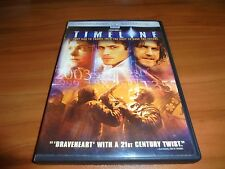 Timeline (DVD, 2004 Widescreen) Gerard Butler, Paul Walker Used