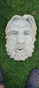 water fountain Water Feature Water Head Gargoyle Sculpture Green Man