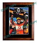 JAMIE WHINCUP 2011 HOLDEN MOTOR RACING WINNER A3 PHOTO 2