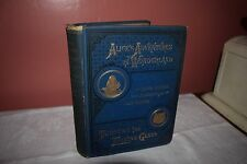 RARE 1883 ALICE'S ADVENTURES IN WONDERLAND-THROUGH THE LOOKING GLASS