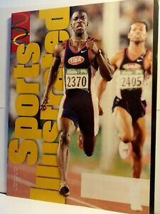 Sports Illustrated Michael Johnson Olympics Track August 12, 1996 No Label Mint