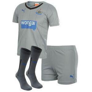 Genuine Puma Kids Newcastle United Away Kit 2014- 2015, Shirt, Shorts & Socks