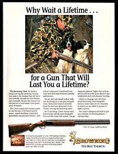 1995 BROWNING Citori Lightning Shotgun AD ENGLISH SPRINGER SPANIELS & Hunter