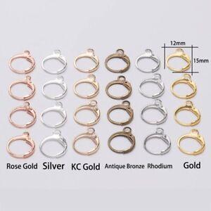 DIY making stud earrings DIY earrings DIY Jewelry Material Fittings
