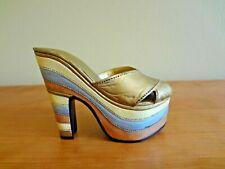 "Just the Right Shoe Miniature Shoe by Raine ""Magnetic Allure"" Platform Heel"