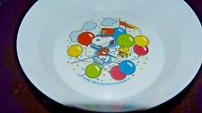 Vintage Snoopy and Woodstock Dish National Home Products Artisan Ware Circus