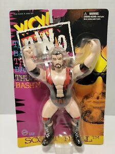 NEW WCW OSFTM 1997 Monday Nitro Vibrating Action figure Razor Ramon/ Scott Hall