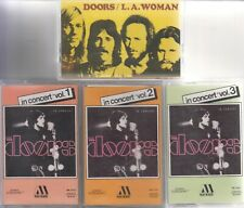 DOORS LOT DE 4 K7 CASSETTES AUDIO