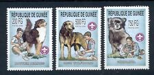 complete.issue. Unmounted Mint Guinea 1673-1678 Never Hinged 1997 Dogs