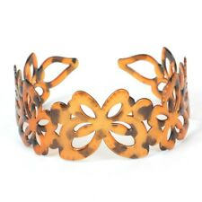 Fashion Lady Women Plastic Headband Hair Accessories Alice Band Butterfly Brown