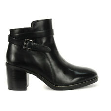Hush Puppies Women's Hannah Strap Boots Black Leather HW06586-007 NEW!