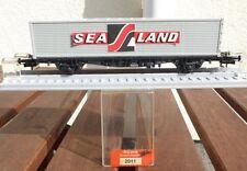 Röwa 2011 Containertragwagen Sea Land DB Container silbern Ep.3 gut erhalten H0