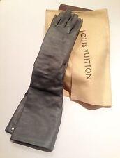 Authentic Louis Vuitton Lambskin Gloves Size M France
