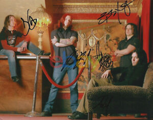 Shinedown Band Autographed 8x10 Signed Photo reprint