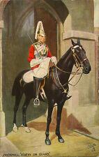 "MILITARY :Whitehall "" Sentry on Guard""- TUCK 'Oilette'"