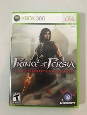 Xbox 360 Prince of Persia: The Forgotten Sands complete w/ case & manual 2010