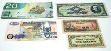 Canadian / Japanese / Mexico / Zambia Mixed Money Lot