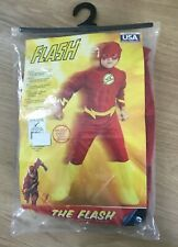 Rubies The Flash costume boys size large 10-12 New!