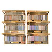 9 Colors Shimmer Eyeshadow Palette +Brush Eye Shadow Glitter Makeup Cosmetic Set