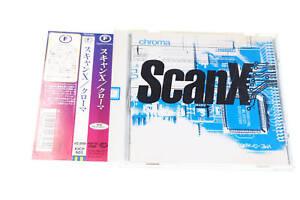 SCAN X CHROMA KICP 501 JAPAN CD OBI A9073