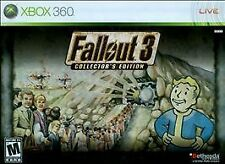 Fallout 3 -- Collector's Edition (Microsoft Xbox 360, 2008)