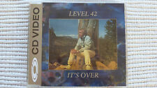 Level 42 It's Over (Very Rare/Near Mint) UK CDV Single