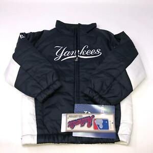 Majestic New York Yankees Navy Puffer Jacket Boys 5/6 Medium