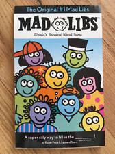 Vintage Mad Libs Word Game 2001 Unused