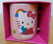 Hello Kitty Sanrio Japan Ceramic Coffee Mug Cup ~ NEW IN BOX ~ Perfect Gift! K20